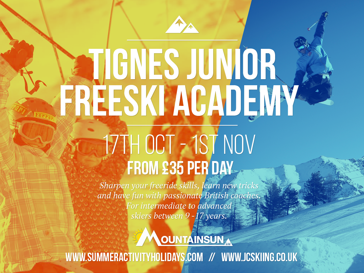 Junior Freeski Academy Tignes