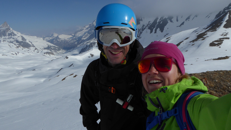Selfie at Col du Palet