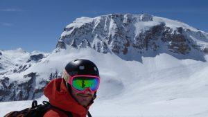 Steep skiing Tignes Val D'Isere