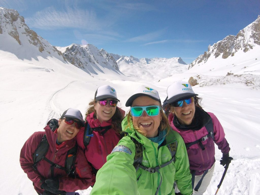 FREEFLO Ski Touring Ski Courses in Tignes, Val D'Isere and St Foy
