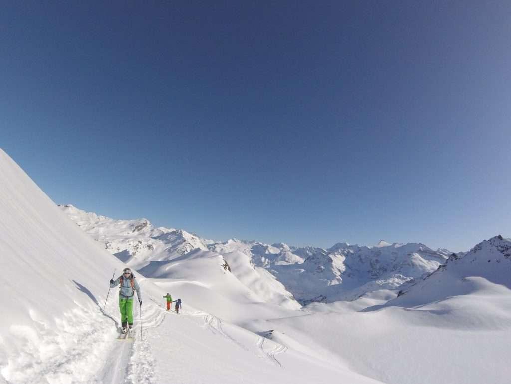 Part 1: Ski touring Col Des Fours, Val D'Isere